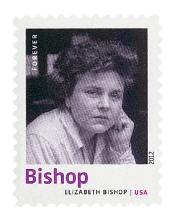 2012 First-Class Forever Stamp - 20th Century American Poets: Elizabeth Bishop