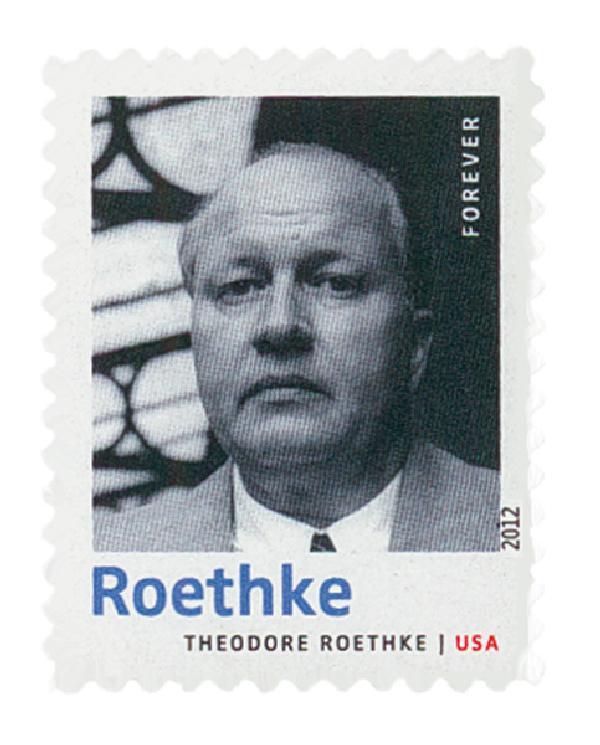 2012 Theodore Roethke stamp