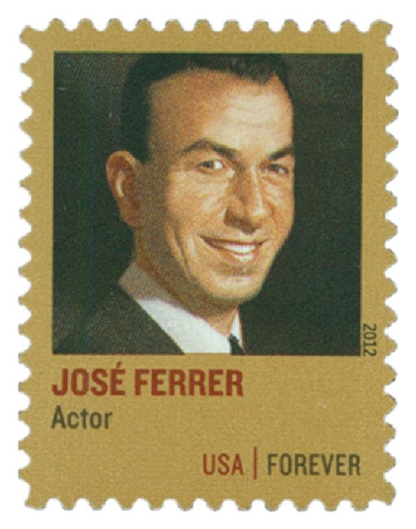 2012 First-Class Forever Stamp - Distinguished Americans: Jose Ferrer