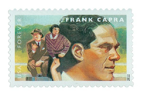 2012 First-Class Forever Stamp - Great Film Directors: Frank Capr