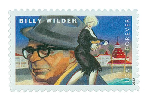2012 First-Class Forever Stamp - Great Film Directors: Billy Wild