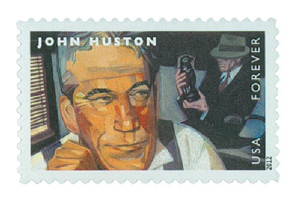 2012 First-Class Forever Stamp - Great Film Directors: John Husto