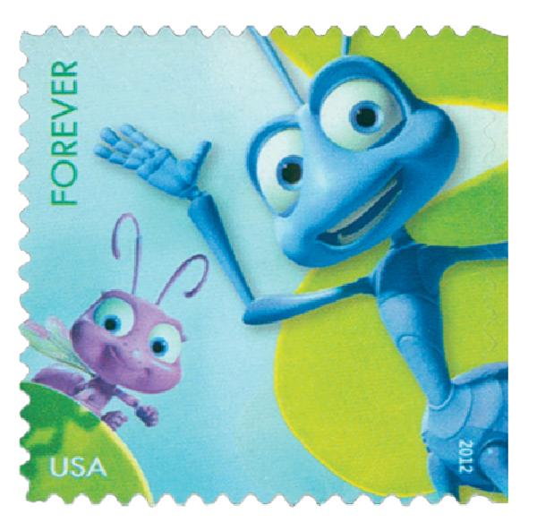 "2012 First-Class Forever Stamp - Disney-Pixar Films: ""A Bugs Life"""
