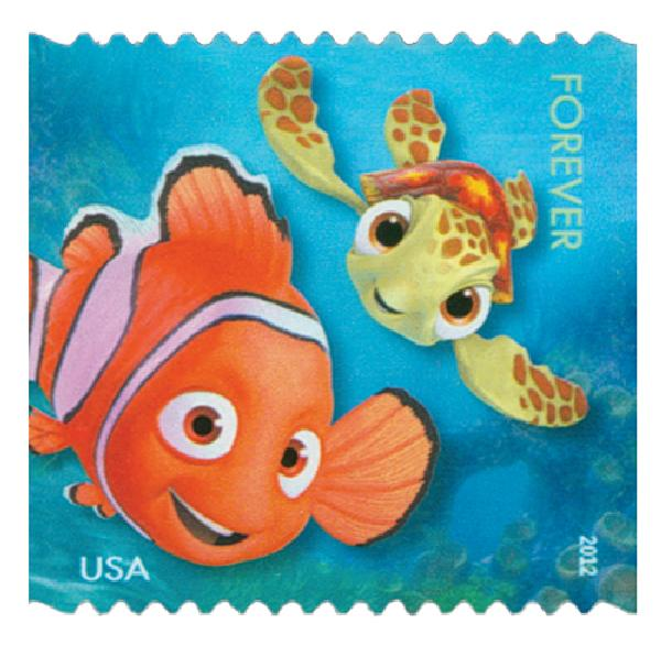"2012 First-Class Forever Stamp - Disney-Pixar Films: ""Finding Nemo"""