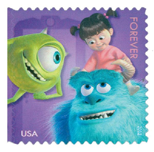 2012 45c Disney-Pixar Films-Monsters Inc