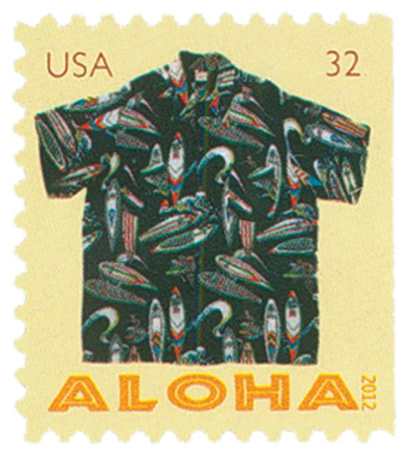 2012 32c Aloha Shirts-Surfers Design Bk