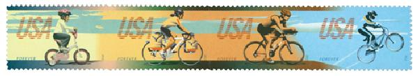 2012 First-Class Forever Stamp - Bicycling