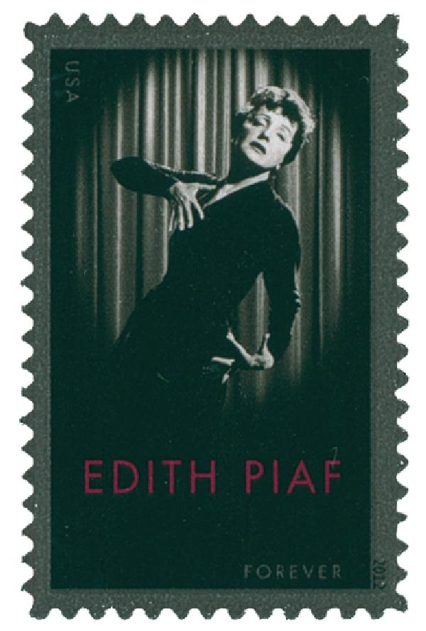 2012 First-Class Forever Stamp - Edith Piaf