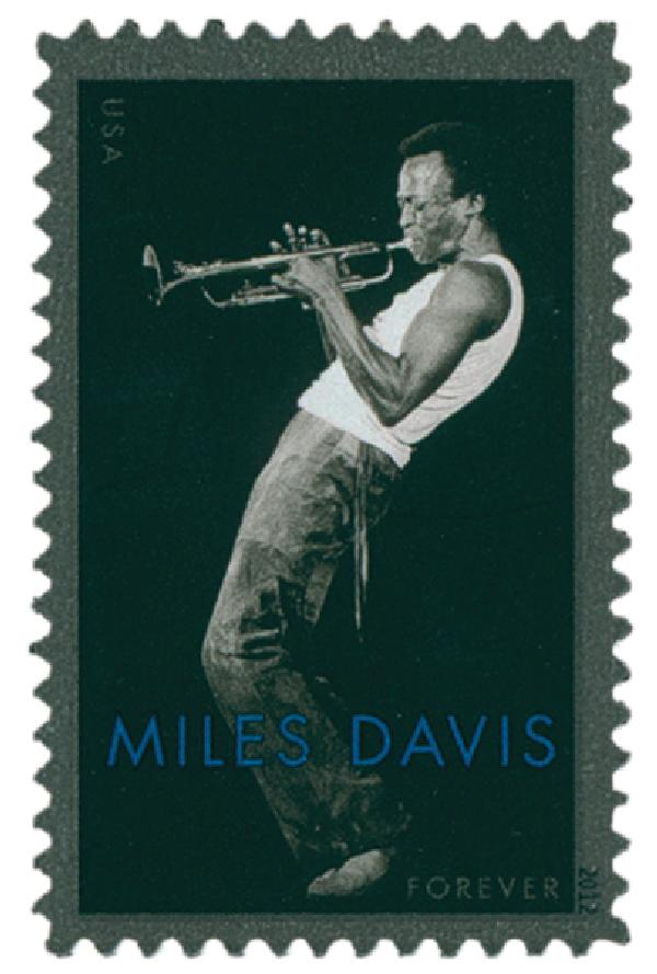 2012 First-Class Forever Stamp - Miles Davis