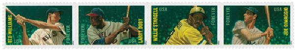 2012 First-Class Forever Stamp - Major League Baseball All-Stars