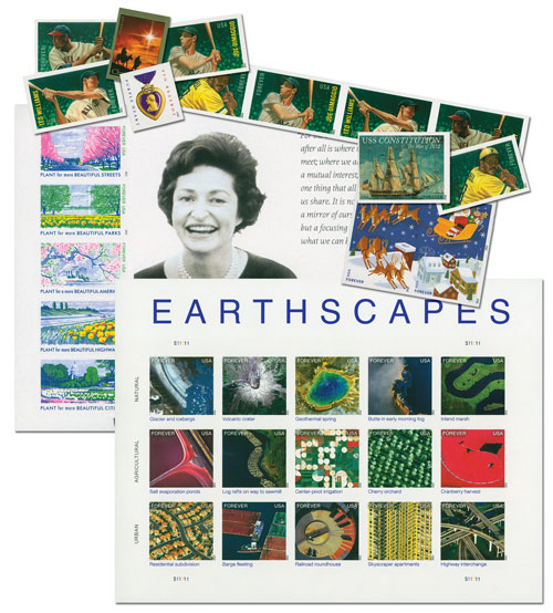 2012 US Imperforate Collection - Complete Set - 36 stamps