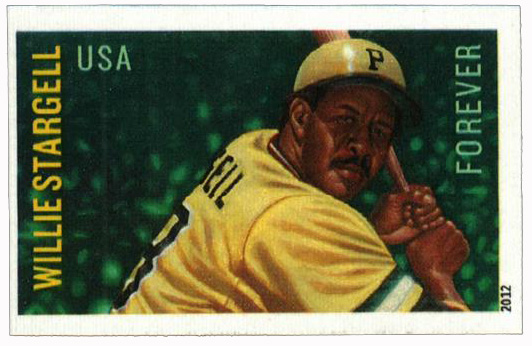 2012 45c Imperf Willie Stargell