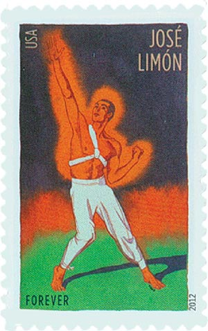 2012 First-Class Forever Stamp - Innovative Choreographers: Jose Limon