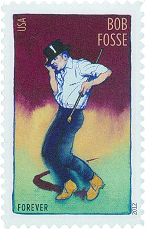2012 First-Class Forever Stamp - Innovative Choreograghers: Bob Fosse