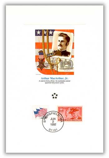 1991 AGMH Arthur MacArthur Proofcard Only
