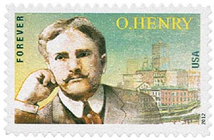 2012 First-Class Forever Stamp - O. Henry
