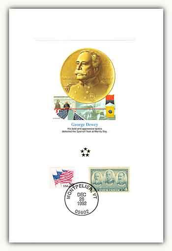 1991 AGMH George Dewey Proofcard Only