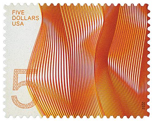 2012 $5 Waves of Color: Orange