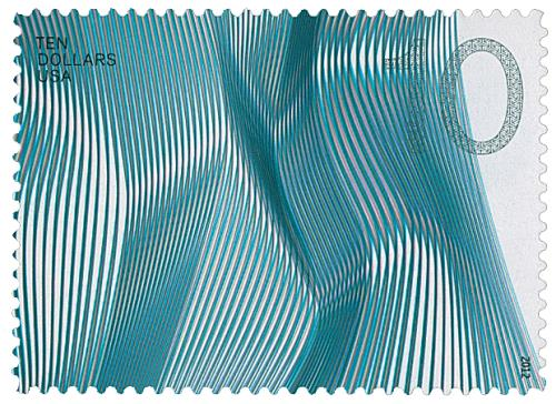 2012 $10 Waves of Color: Blue-Gray