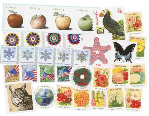 2013 Regular Issues, set of 57 stamps