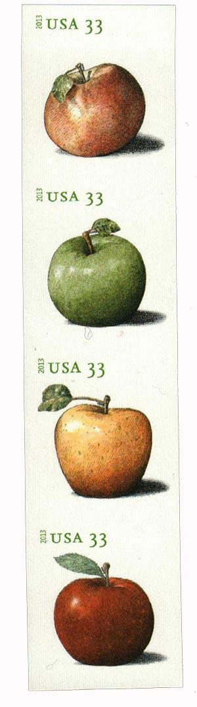 2013 33c Imperf Apples