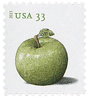 2013 33c Apples, Granny Smith