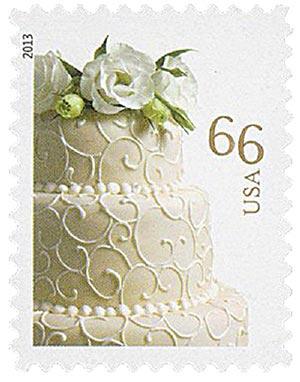 2013 66c Wedding Cake