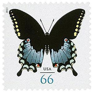 2013 66c Spicebush Swallowtail Butterfly