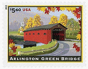 2013 $5.60 Arlington Green Bridge