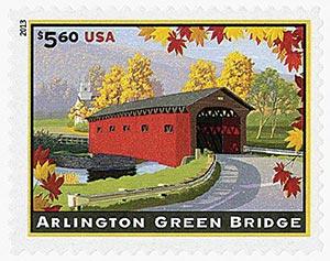 2013 $5.60 Arlington Green Bridge