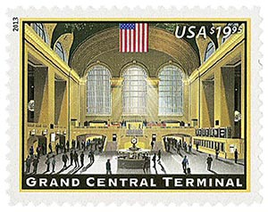 2013 $19.95 Grand Central Terminal