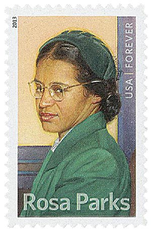 2013 First-Class Forever Stamp - Rosa Parks