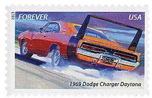 2013 First-Class Forever Stamp - Muscle Cars: 1969 Dodge Charger Daytona