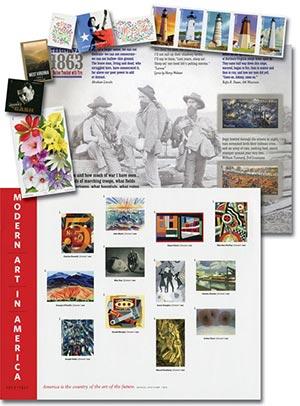 2013 U.S. Imperforate Stamps, 38v