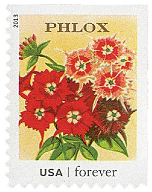2013 First-Class Forever Stamp - Vintage Seed Packets: Phlox