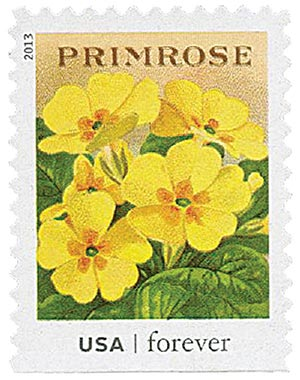 2013 First-Class Forever Stamp - Vintage Seed Packets: Primrose