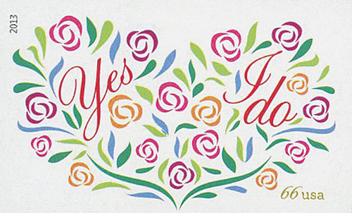 2013 66c Imperf Wedding - Yes I Do