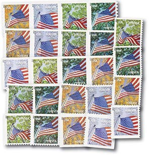 2013 A Flag for All Seasons, Set of 24 First-Class Forever Stamps