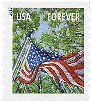 2013 First-Class Forever Stamp - A Flag for All Seasons: Spring (Ashton Potter, coil)