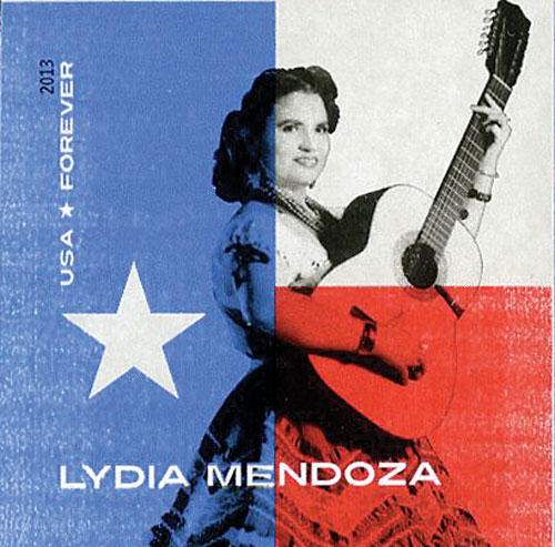2013 First-Class Forever Stamp - Imperforate Music Icons Series: Lydia Mendoza