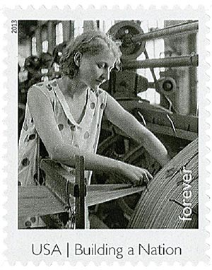 2013 Textile Worker stamp
