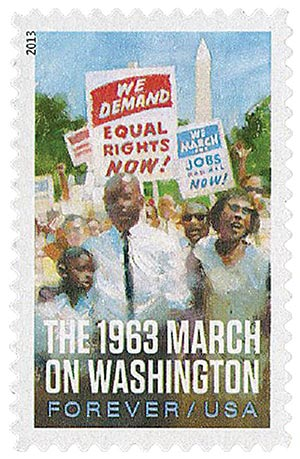 2013 First-Class Forever Stamp - The 1963 March on Washington