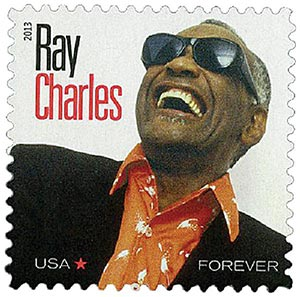 2013 First-Class Forever Stamp - Music Icons: Ray Charles