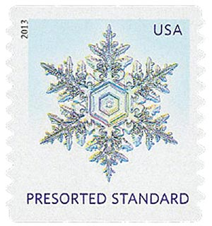 2013 10c Snowflakes: Pointy Tips