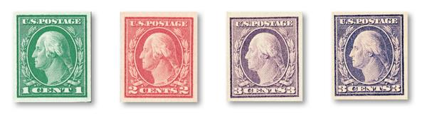 1916-17 Imperforate