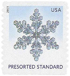 2013 10c Snowflakes: Narrow Tips