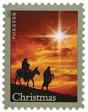 2013 First-Class Forever Stamp - Traditional Christmas: The Holy Family