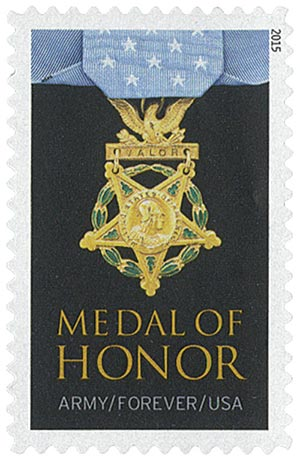 2015 First-Class Forever Stamp - The Medal of Honor: Vietnam - Army