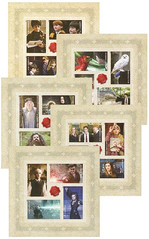 2013 First-Class Forever Stamp - Harry Potter