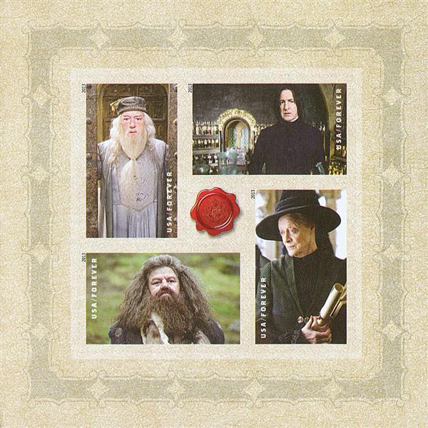 2013 46c Harry Potter se-ten - Pane 3